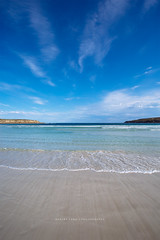 Fisheries Bay, South Australia (Robert Lang Photography) Tags: fisheriesbaysouthaustralia fisheriesbay southaustralia fisherybay eyrepeninsula australia aussie beach beautiful blue bluesky bay sa stock sand seaside sun sky seascape summer simple minimal minimalistic movement tide sea ocean land