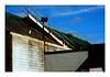 Jacob's Ladder (TooLoose-LeTrek) Tags: ladder steps roof sky vernacular