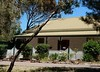 Old Cottage With Picket Fence (mikecogh) Tags: oldnoarlunga cottage cute picketfence veranda architecture agapanthus