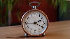 Tic-tac (SchoonbrodtB) Tags: réveil wecker clock vintage tic tac time temps cuivre cooper ancien