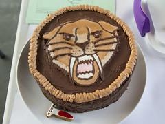 Bake a Cake for Darwin 2017 (Beaty Biodiversity Museum) Tags: beaty biodiversity museum cake darwin birthday contest ubc vancouver british columbia decorating fondant icing dessert off smilodon fossil