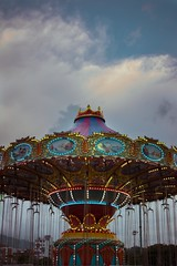 Fair (Sketchless Phorography) Tags: green fair feria carousel attraction fun happyland happiness colorful citylights noon clouds colors bulbs stilllife lifestyle places interesting explore
