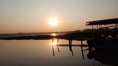 Sunset over Rudra Sagar Lake, Melagarh (John Steedman) Tags: sunset rudrasagarlake melagarh rudrasagar tripura northeast india