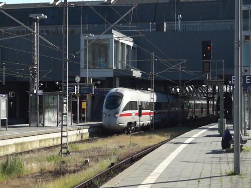 Zugsausfahrt Lübeck