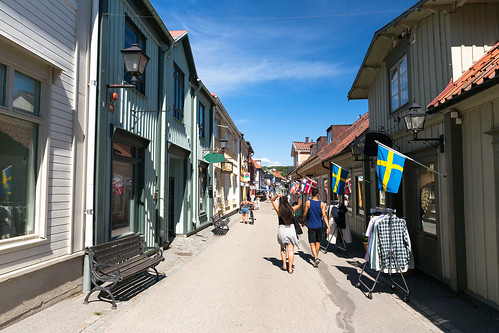 Shopping Street in Sigtuna