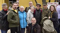 First meeting - whole family (Jon_Marshall) Tags: scott family jon marines marine bootcamp graduation marinecorpsrecruitdepot sandiego mcrd