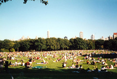9/12/2001 the day after 9/11. Central Park. (TheINTERCULTURE) Tags: stateside