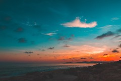 Birds x Sunset (masemase) Tags: wedding cabo san lucas fall marriage mexico october vacation ocean beach water sky clouds beautiful gradient landscape landscapes birds