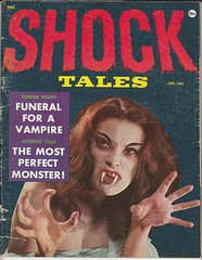 Shock Tales Magazine (kevin63) Tags: lightner picture magazine cover shock tales vampire funeral woman fangs sites seventies60s 70s old vintage most perfect monster