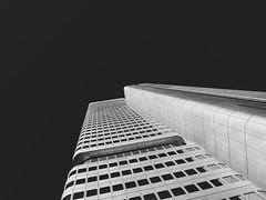 Frankfurt am Main; Silver Tower (norbert.r) Tags: architecture architektur fassade flickrchallengegroup frankfurt gebäude gx80 lumix sw silvertower hochhaus
