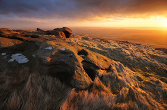West Nab Sunrise (andy_AHG) Tags: landscape photography scenic beautiful landscapes british countryside outdoors rural northern england pennines moors rocks peak district west nab meltham moor wessenden head valley sunrise spring outdoor rock formation saddleworth huddersfield