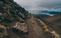 The Path (stefannik) Tags: panorama landscape path walk nature nikon mountain alpine alpinecrossing tongariro newzealand tokina wideangle wide awesome beautiful cool sky panoramic blue travel