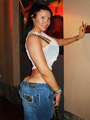 Girl buttcrack (mattjackson9) Tags: girl ass jeans buttcrack