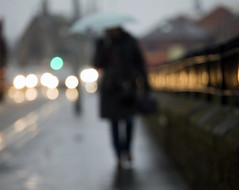 blurred in the rain (matthewheptinstall) Tags: beauty melancholy street mono wakefield westyorkshire winter morning commute people streetphotography cold fog foggy mist figure blur