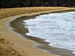 Snorkeling spot (thomasgorman1) Tags: beach sand water tide sea lanai hawaii
