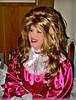 Red satin sissy (jensatin4242) Tags: sissy crossdresser transvestite jensatin satin frilly