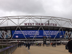 Outside The London Stadium (lcfcian1) Tags: west ham united leicester city whufc lcfc olympic stadium london sport football epl bpl premier league westham westhamunited leicestercity westhamvleicester olympicstadium londonstadium 23 18317 westhamunited23leicestercity18317