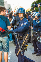 Oakland 2010 (Thomas Hawk) Tags: california usa oakland riot cops unitedstates unitedstatesofamerica protest police cop eastbay riots alamedacountysheriff oscargrant oaklandriots johannesmersehle oaklandca070810 oaklandriots2010