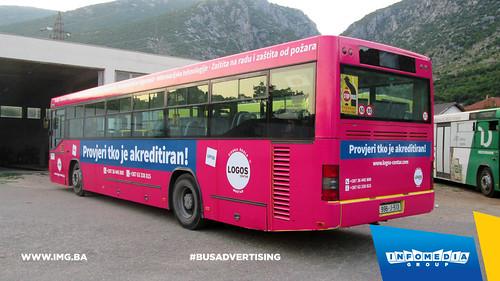 Info Media Group - Logos Centar, BUS Outdoor Advertising, Mostar 08-2015 (2)