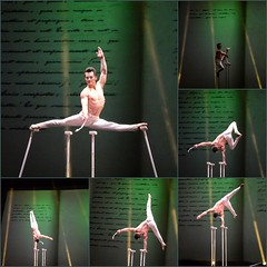 Gymnastic Collage (zenseas : )) Tags: show china travel vacation holiday collage amazing lowlight shanghai gymnastics talent acrobatics handheld strong talented gymnastic acrobatic limber