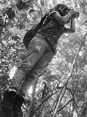 Forest (CristianRoso) Tags: sky bw white black green forest puerto lights venezuela samsung walker guayana llovizna ordaz nv7