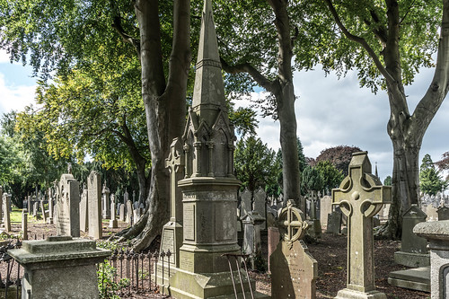 GLASNEVIN CEMETERY [MY FIRST DAY USING THE NEW SONY A7RMkII] REF-107399