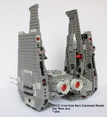 Star Wars LEGO 75104 Kylo Ren's Command Shuttle (KatanaZ) Tags: starwars lego minifigs minifigures theforceawakens kyloren kylorenscommandshuttle generalhux firstorderofficer firstordercrew lego75104 firstorderstormtrooperofficer
