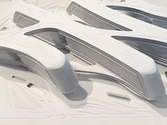 zaha hadid - sky soho,shanghai, china (Alexey Tyudelekov) Tags: sky building architecture model soho petersburg exhibition plastic hermitage zaha hadid zahahadid