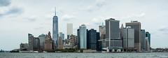Downtown Manhattan (dansshots) Tags: nyc newyorkcity panorama skyline skyscraper downtown financialdistrict nycskyline downtownnyc newyorkcityskyline nycpanorama 1wtc nikond3 1worldtrade oneworldtrade dansshots
