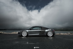 Bagged Audi R8 #BodenR8 | Boden Autohaus (Boden Autohaus) Tags: suspension audi stance r8 toyo bagged audir8 rotiform accuair accuairsuspension bodenautohaus