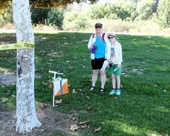 022 Caution Control (saschmitz_earthlink_net) Tags: california tree losangeles control group orienteering runner encino losangelescounty 2015 lakebalboa laoc lakebalboaanthonycbeilensonpark losangelesorienteeringclub