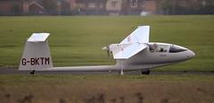PZL-Bielsko SZD-45A Ogar G-BKTM Lee on Solent Airfield 2015 (SupaSmokey) Tags: lee solent airfield 2015 ogar pzlbielsko szd45a gbktm