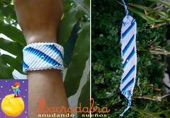 Brazalete #macrame (Macradabra) Tags: bracelet macram brazaletes frienshipbracelets macradabra