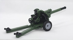 LEGO WW2 Russian Gaubitsa Howitzer 152mm (dmikeyb) Tags: lego wwii soviet cannon ww2 soldiers artillery russian officer howitzer artillerist 152mm m1943 artillerists gaubitsa