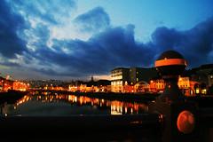 peace of mind, St Patrick's Quay Cork (Aiils) Tags: travel ireland winter sunset sky colors clouds canon tramonto cork viaggio irlanda