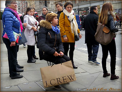 `1537 (roll the dice) Tags: life uk autumn girls portrait england people urban cold sexy london art classic fashion danger shopping advertising fur asian funny pretty sad traffic natural candid seat chinese strangers streetphotography tourist knightsbridge sit unknown shops shock brave block mad jcrew reaction unaware sw1 londonist kensingtonchelsea