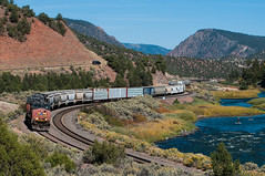 State Bridge (shawn_christie1970) Tags: railroad up train river us colorado unitedstates sp coloradoriver bond unionpacific flyfishing patched southerpacific statebridge paddleboarding mnyro