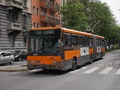 ATM - 203 (KiloCharlie 68) Tags: route atm 91 linea 203 4001 bredabus piazzalelotto aziendatrasportimilanesi piazzaluigidisavoia vialeisonzo circolaresinistra