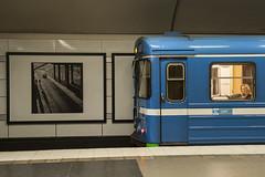 Art & the Metro (powern56) Tags: metro sweden stockholm smoliansky