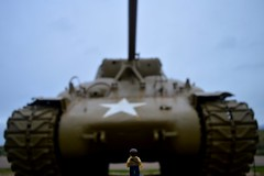 GI Joe (302/365) (robjvale) Tags: usa holiday france outside outdoors nikon war tank lego outdoor dday utahbeach project365 d3200 adventurerjoe