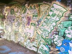 Leith River, TiC (Right) (ViSiON (NZ)) Tags: streetart graffiti vision tic graffitiart talkischeap burga nzstreetart dunedingraffiti dunedinstreetart nzgraffiti nzgraffitiart dunedingraffitiart streetartdunedin