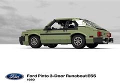 Ford Pinto 3-Door Runabout ESS - 1980 (lego911) Tags: auto birthday usa ford ess car america model lego render 10th 1980 1980s runabout challenge 8th cad lugnuts pinto underdog 96 povray moc ldd miniland 3door 3dr sympathyfortheunderdog lego911 happycrazyeighthbirthdaylugnuts