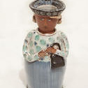 "<b>Woman with Purse</b><br/> Mary Deneen, 2001<a href=""http://farm1.static.flickr.com/642/22983318414_e5f850ef69_o.jpg"" title=""High res"">∝</a>"