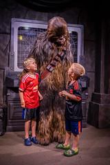 Chewbacca (jrobfoto.com) Tags: christmas family raw cole ben sony disney fullframe alpha chewbacca lightroom a7r hollywoodstudios