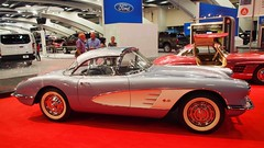 1959 Chevrolet Corvette Convertible '585T' 5 (Jack Snell - Thanks for over 26 Million Views) Tags: sf auto show ca 58th wallpaper art cars chevrolet wall vintage paper san francisco display convertible center international collectible moscone corvette 1959 excotic jacksnell707 jacksnell 585t accadomy