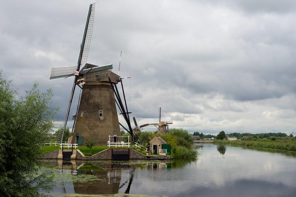 Windmills at Kinderdijk by BriYYZ, on Flickr