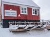 P1030951.jpg (Dennis Watts1) Tags: ittoqqortoormiit sledge sign touristoffice scoresbysund eastgreenland