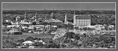 View of historical downtown St. Augustine, Florida, USA /  The Nation's oldest city (Jorge Marco Molina) Tags: staugustine northflorida historical city cityscape urban downtown skyline browardcounty southflorida density centralbusinessdistrict skyscraper building architecture commercialproperty cosmopolitan metro metropolitan metropolis sunshinestate realestate