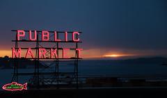 (whegedusich) Tags: market ocean pikeplace seattle sign washington water