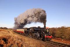 Santa Special - NYMR - 2016-12-17 (BillyGoat75) Tags: nymr northyorkshiremoorsrailway santaspecials brstandardclass 4mt 76084 steamengine locomotive moorgates goathland northyorkshire